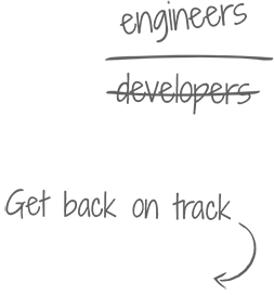 developers engineers